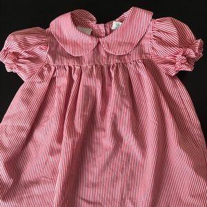 Other - 🛍♻️ 5/$15 Vintage Red & White Stripe Dress